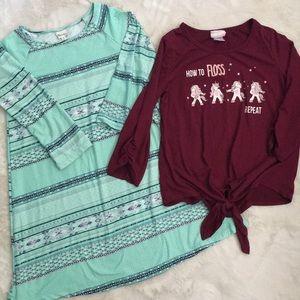 Super soft! Girls clothes size 12